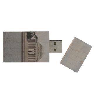 Jefferson Memorial Wood USB 2.0 Flash Drive