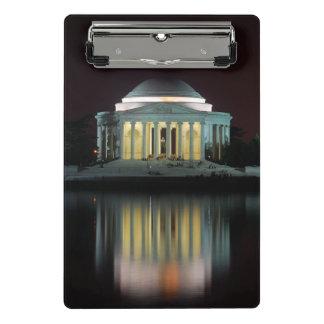 Jefferson Memorial Mini Clipboard