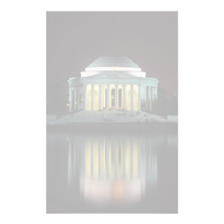 Jefferson Memorial Personalised Stationery