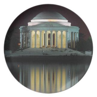 Jefferson Memorial Plate
