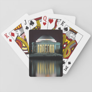 Jefferson Memorial Playing Cards