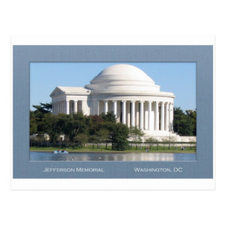 Jefferson Memorial Post Card