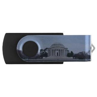 Jefferson Memorial Swivel USB 2.0 Flash Drive