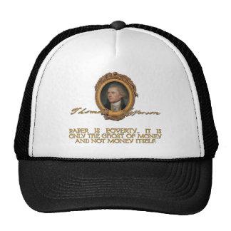 Jefferson on Paper Money Mesh Hat