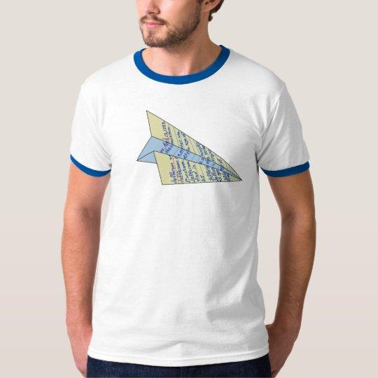 Jefferson Paper Aeroplane T-Shirt