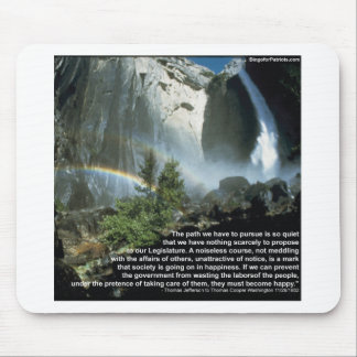Jefferson quote about limited Government Mouse Pad