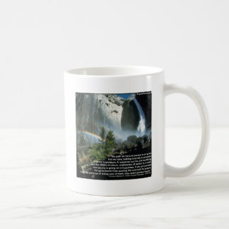Jefferson quote about limited Government Basic White Mug