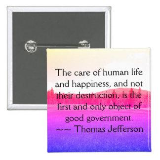 Jefferson Quote Button