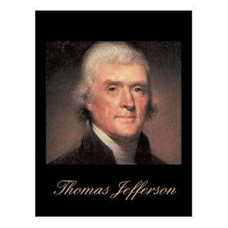 Jefferson quote Postcard