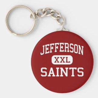 Jefferson - Saints - High - Edgewater Colorado Basic Round Button Key Ring
