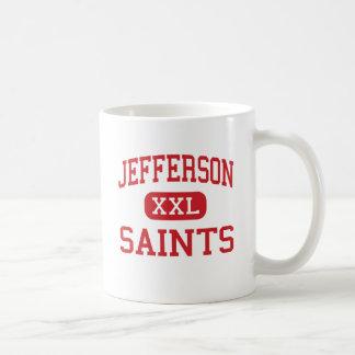 Jefferson - Saints - High - Edgewater Colorado Basic White Mug