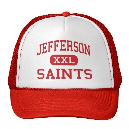 Jefferson - Saints - High - Edgewater Colorado Mesh Hats