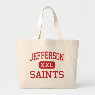 Jefferson - Saints - High - Edgewater Colorado Jumbo Tote Bag