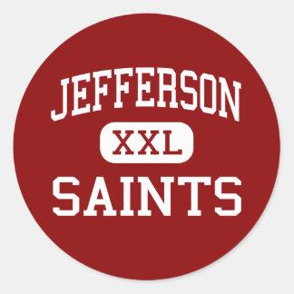 Jefferson - Saints - High - Edgewater Colorado Round Sticker