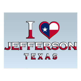 Jefferson�, Texas Postcard