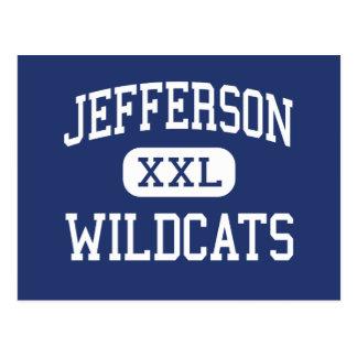 Jefferson Wildcats Middle Columbia Postcard