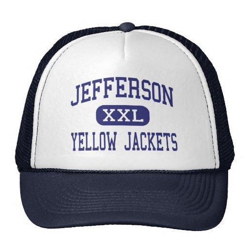 Jefferson Yellow Jackets Middle Arlington Trucker Hats