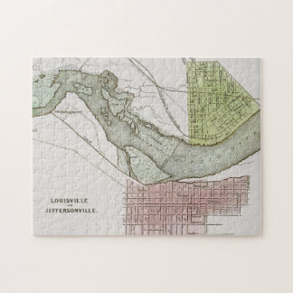 JEFFERSONVILLE, INDIANA: MAP PUZZLE