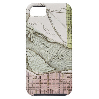 JEFFERSONVILLE, INDIANA: MAP TOUGH iPhone 5 CASE
