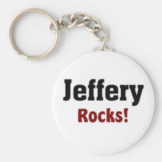 Jeffery Rocks Keychain