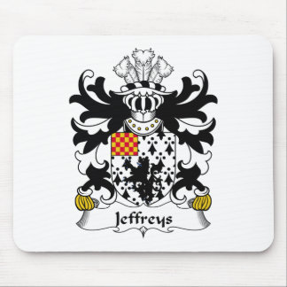 Jeffreys Family Crest Mouse Mat