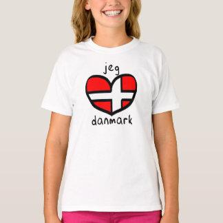 Jeg Elsker Danmark T-Shirt