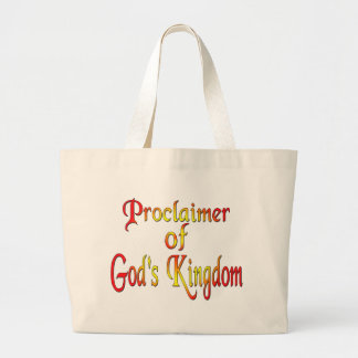 Jehovah's Witness Large Tote Bag