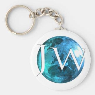 Jehovahs Witness Worldwide Basic Round Button Key Ring