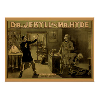 Jekyll & Hyde - Theater Poster