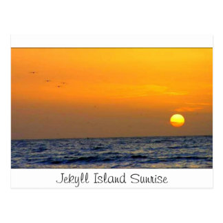 Jekyll Island Sunrise Postcard