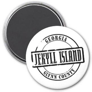 Jekyll Island Title Magnet