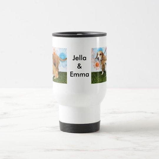 Jella = Corgi and Emma = Beagle Basset
