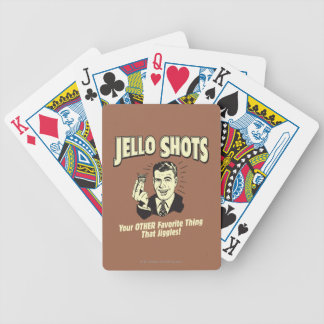 Jello Shots: Other Favorite Thing Bicycle Playing Cards