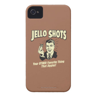 Jello Shots: Other Favorite Thing iPhone 4 Case-Mate Cases