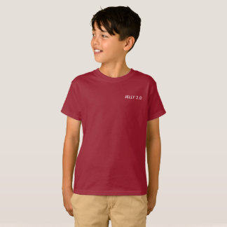 Jelly 2.0 Red/purple t-shirt  (boys)