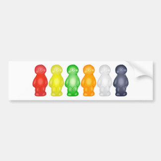 Jelly Babies Bumper Sticker