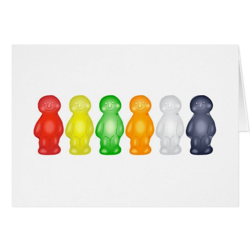 Jelly Babies Cards