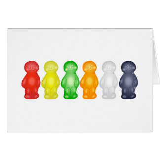Jelly Babies Greeting Card