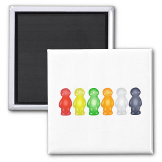 Jelly Babies Refrigerator Magnet