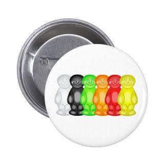 Jelly Baby Gang 6 Cm Round Badge