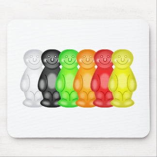 Jelly Baby Gang Mouse Mat