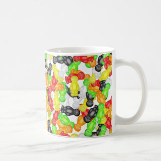 Jelly Baby Wallpaper Coffee Mug