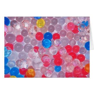 jelly balls card