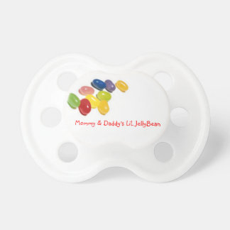 Jelly Bean Binky Baby Pacifiers