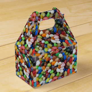 Jelly Bean black blue green Candy Texture Template Favour Box