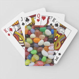 Jelly Bean black blue green Candy Texture Template Playing Cards