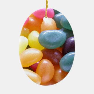 Jelly Bean Christmas Ornament