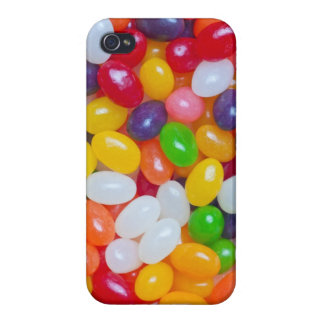 Jelly Bean - Easter Jellybeans Background Template Case For The iPhone 4