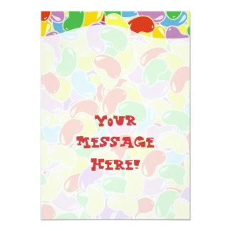 Jelly Bean Fade 5x7 Paper Invitation Card