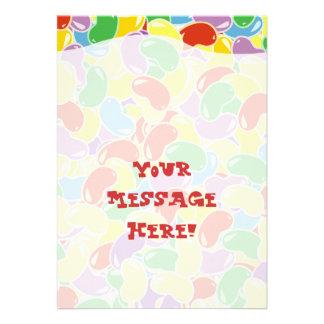 Jelly Bean Fade Personalized Invitation